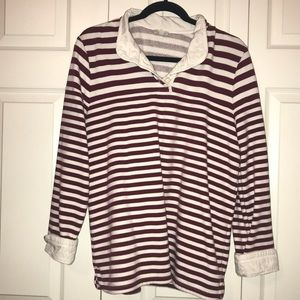 Talbots collared pullover